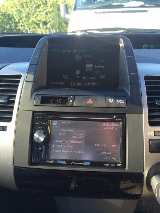 wiring diagram for pioneer avic f900bt installed pioneer avic f900bt 2 din nav unit priuschat  pioneer avic f900bt 2 din nav unit