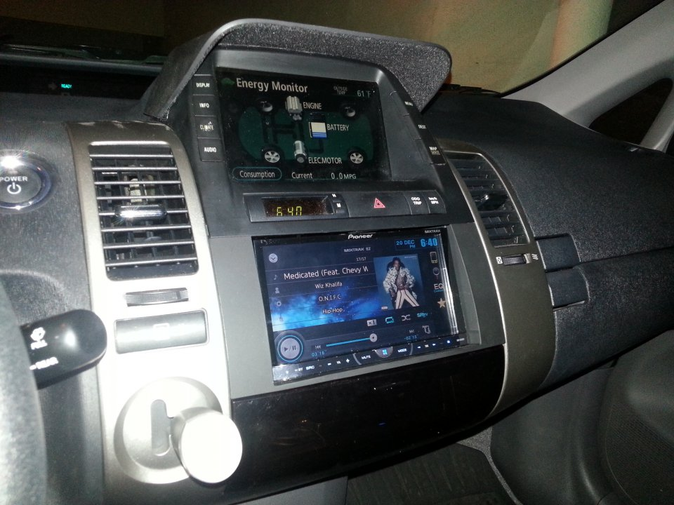Pics Of My Dual Amp Double Din Touchscreen New Speakers