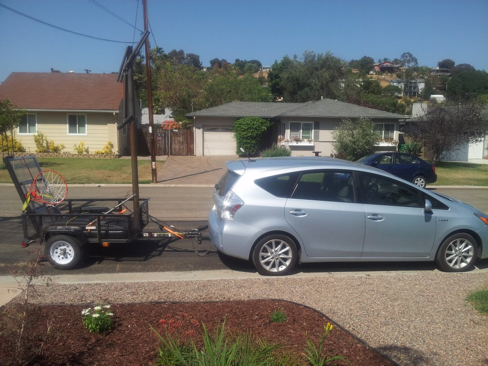 Towing A Trailer With My Prius V Priuschat