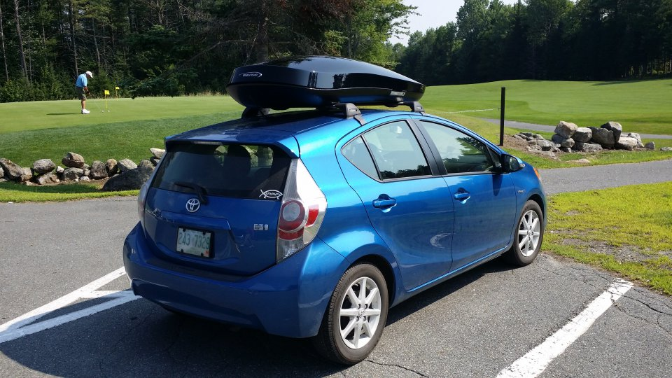 Just Added A Roof Rack And Cargo Basket Pics Priuschat