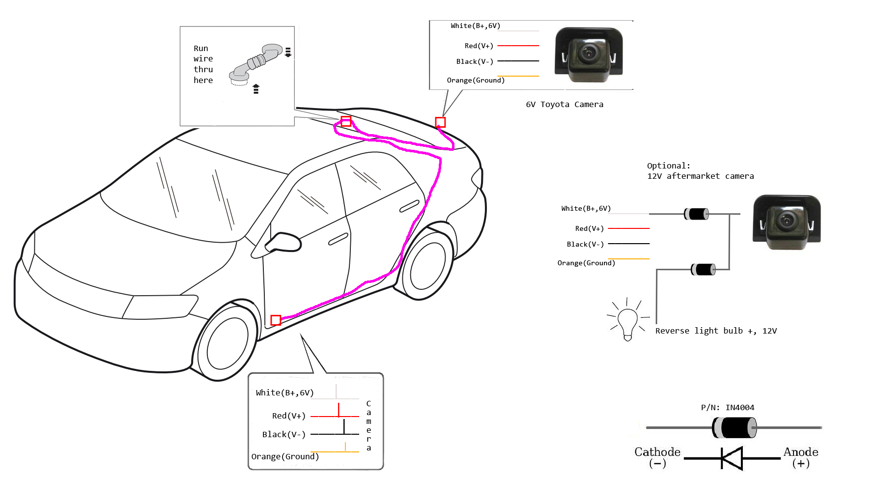 Reverse camera wiring diagram toyota diy wiring diagrams back up camera for 2012 prius two touch screen non nav page 4 rh priuschat com toyota rav4 reverse camera wiring diagram toyota 86 reverse camera wiring asfbconference2016 Choice Image