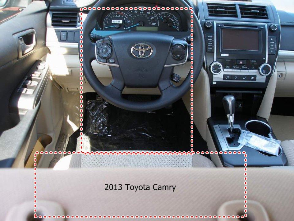 2012 Camry Hybrid Offset Steering Wheel Oddity