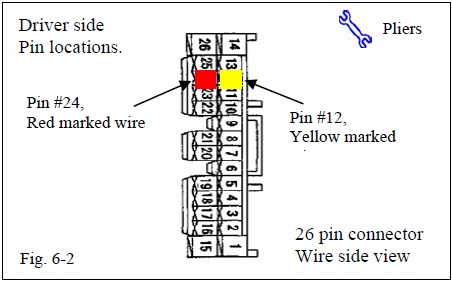 Footwell lighting tied to dome light how to priuschat its a white with red markings wire pin 24 behind the drivers foot cowl note disregard the pin 12 yellow in the diagram below asfbconference2016 Images