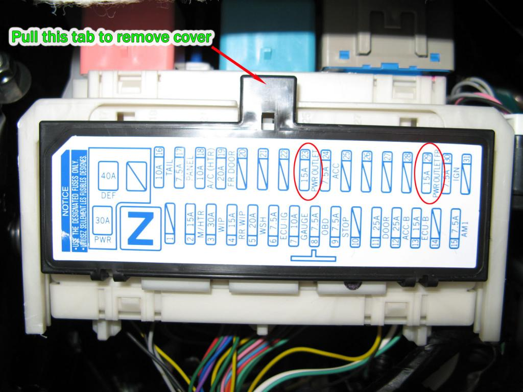 2006 Prius Fuse Box Wiring Diagram Todays 2007 Toyota Corolla 2008 Schematic Location Source