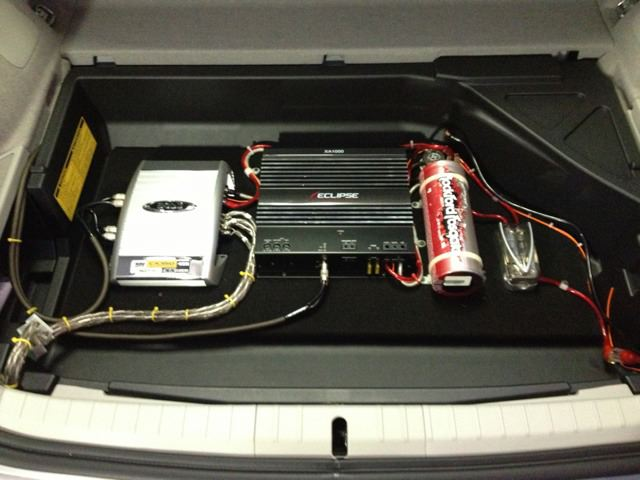 Question on amp install w/ factory head unit | PriusChat