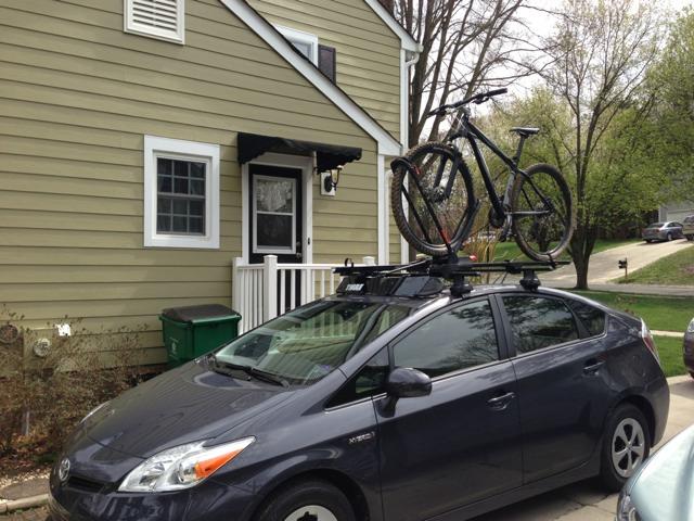 Prius V Bike Rack Priuschat