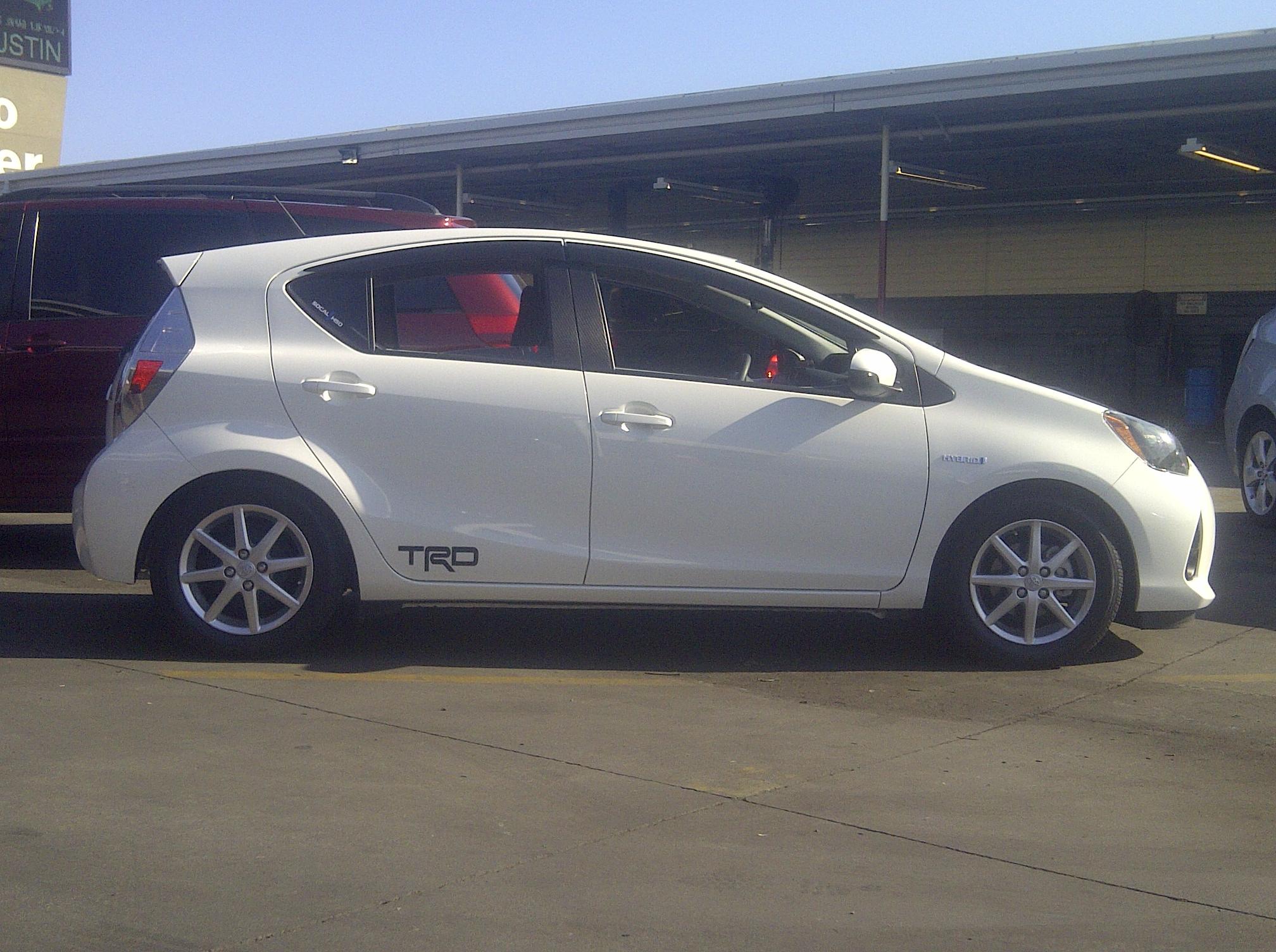 Prius Tank Size >> My Prius C mods so far...   PriusChat