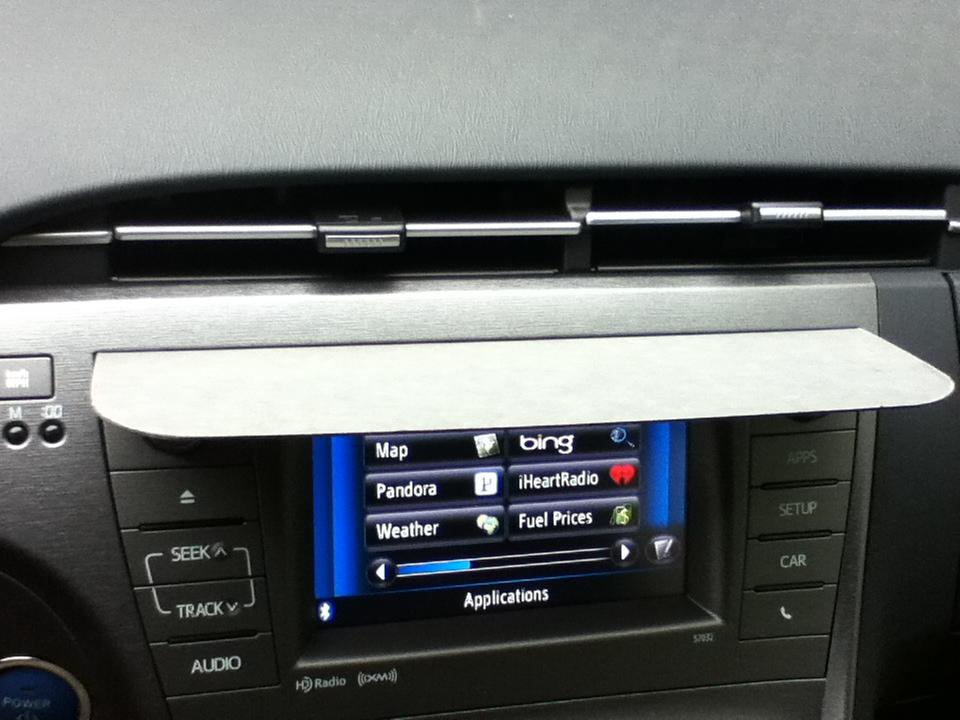 Super simple DIY navigation visor  723747cbe5c
