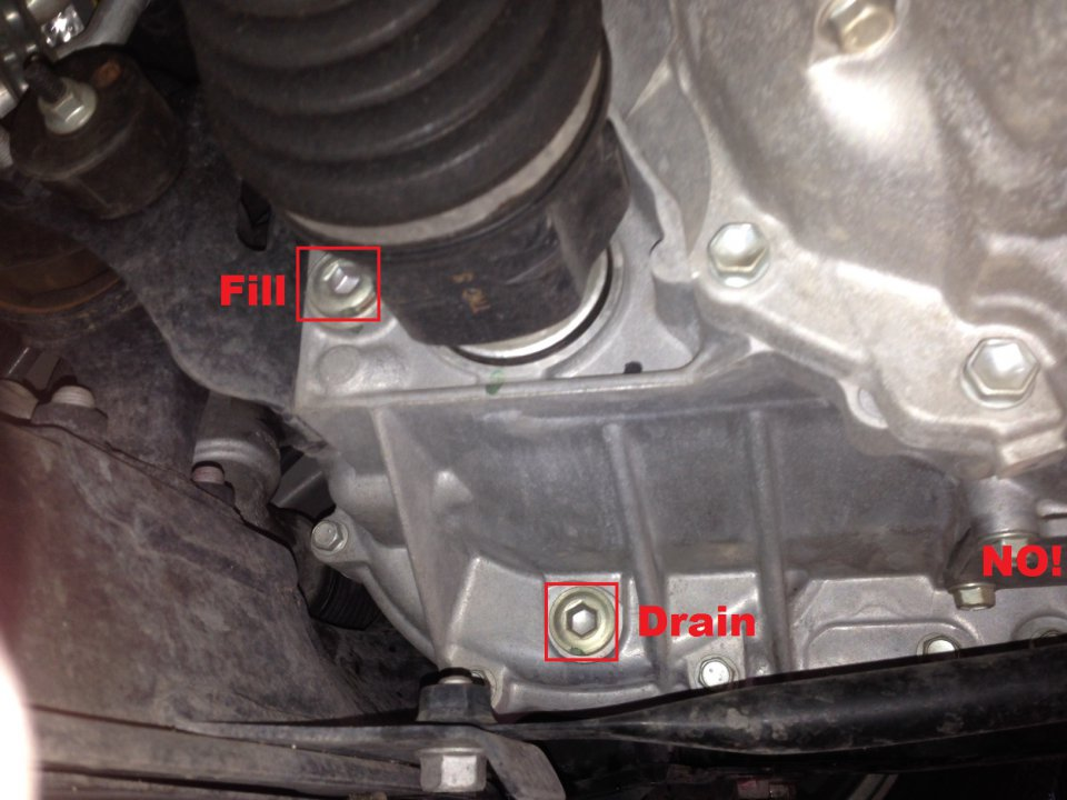 Transmission fluid change diy priuschat 4move the fill plug first god forbid if you remove the drain plug firstdraining the transmission and if you so unfortunately strip the fill plug theres solutioingenieria Choice Image