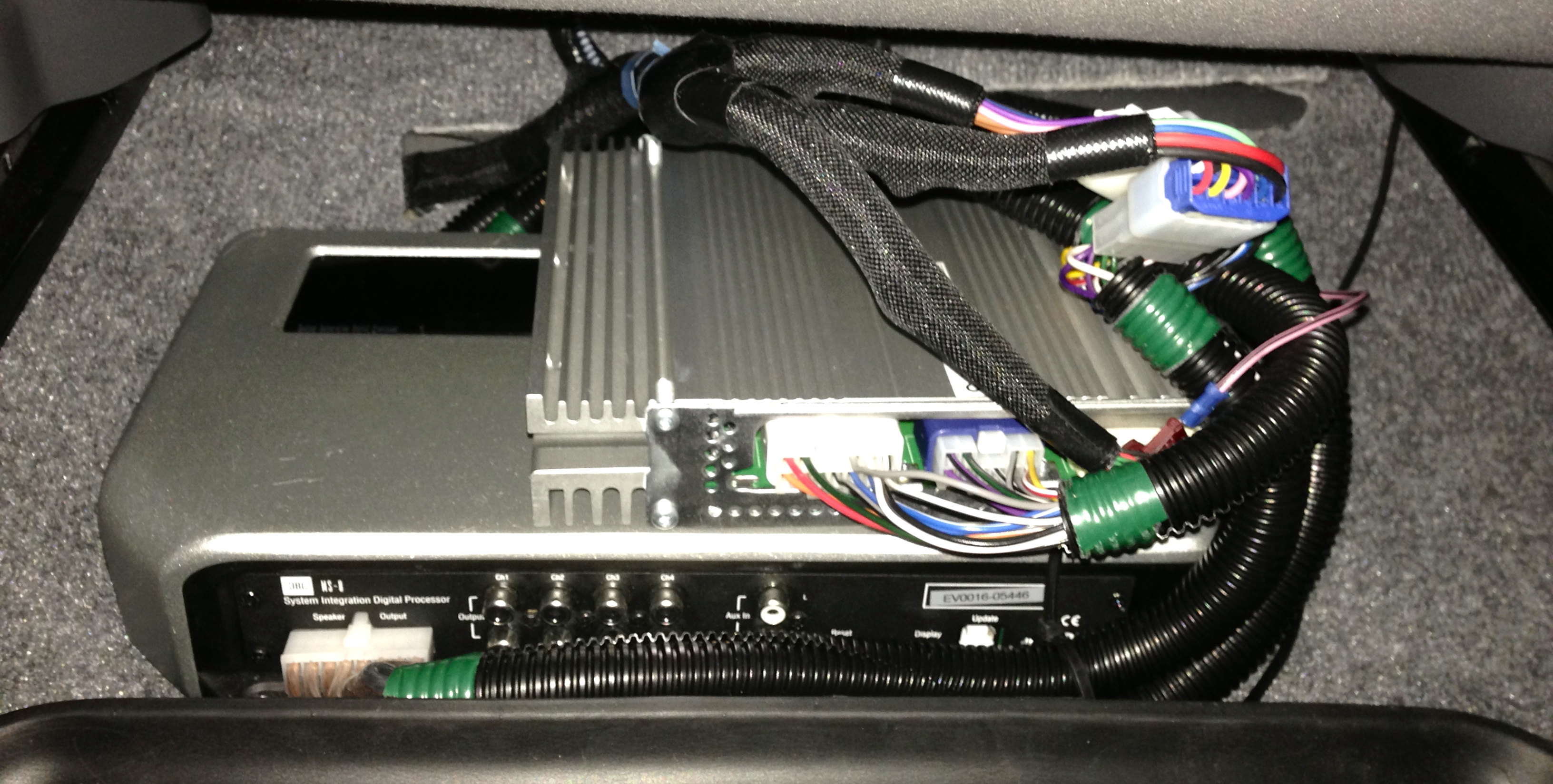 Jbl Ms 8 With Custom Harness For Jbl Prius 10 11 Priuschat