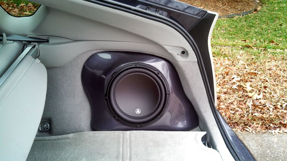 Complete stereo overhaul with Navi and custom subwoofer