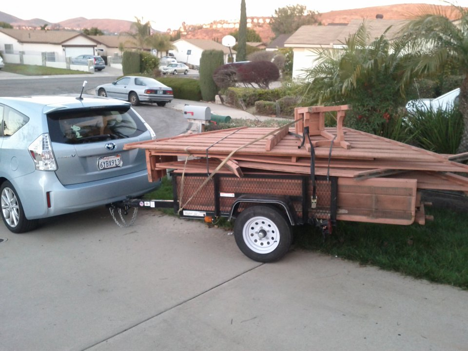 Towing A Trailer With My Prius V