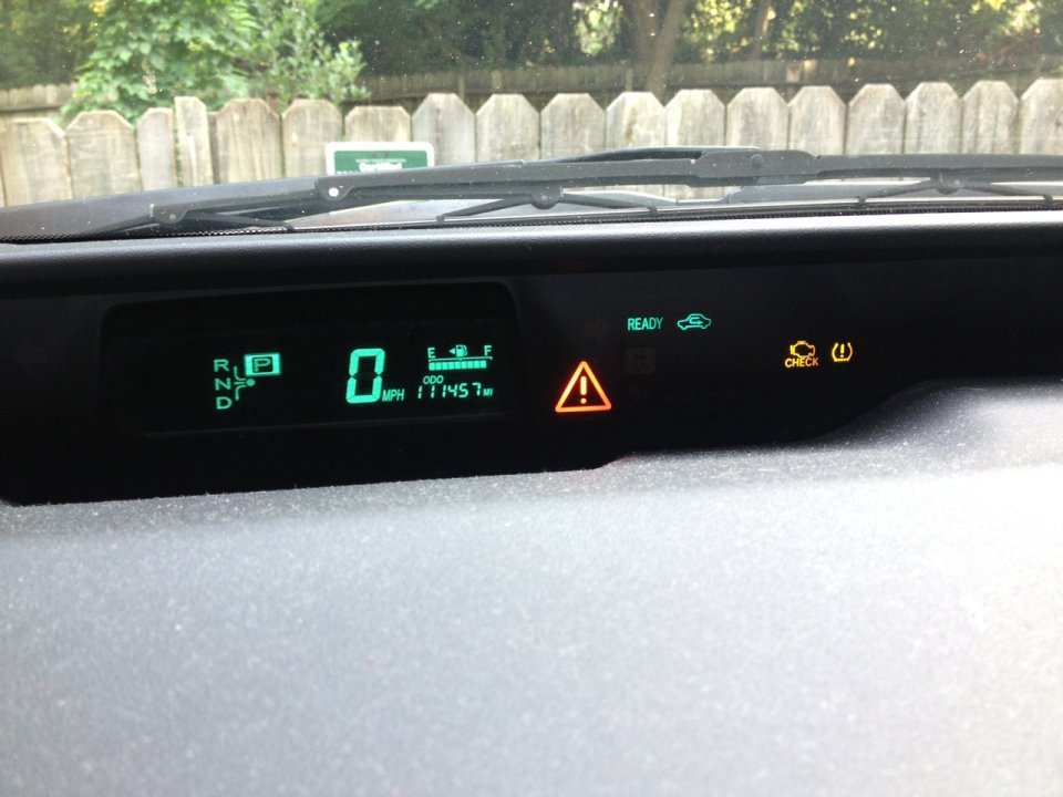 Multiple Warning Lights Pictures Attached Priuschat