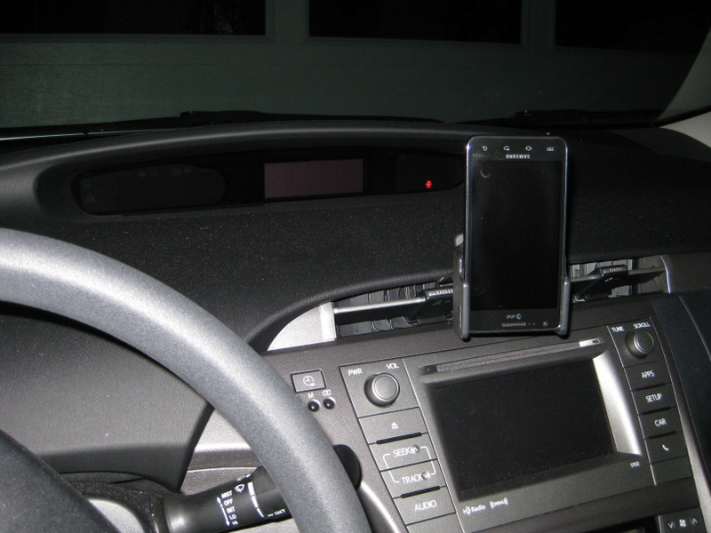Cell phone Placement and Holder? | PriusChat