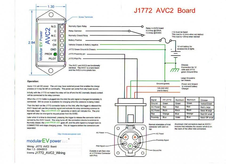 alcon charger problems with j1772 charge station priuschat j1772 wiring diagram at gsmx.co
