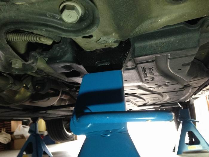 Prius Oil Change >> Prius Jackstand position | PriusChat