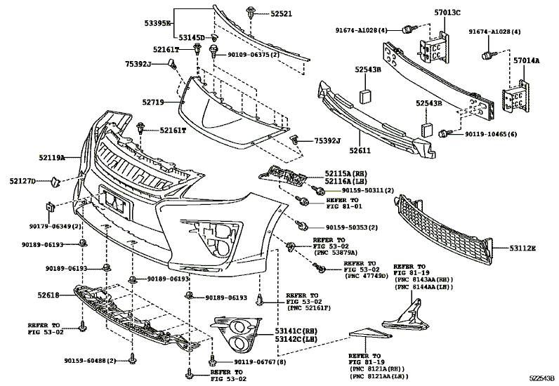 front end parts diagram toyota pruis  u2022 wiring diagram for free