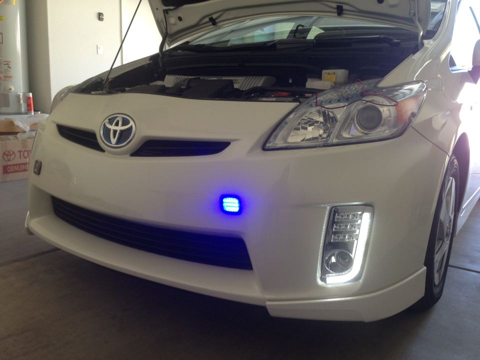 Prius Drl Led Integrated Led Turn Signal Amp Fog Lamps