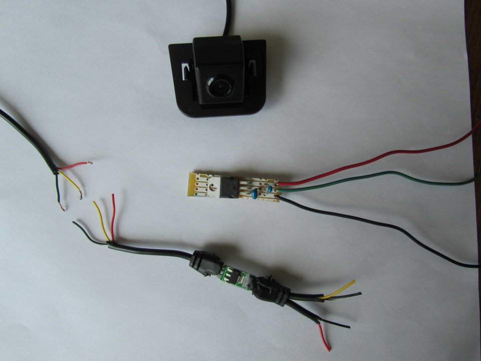 adding backup camera to 2012 non nav prius 2 with touch screen 12v wiring basics camera wiring diagram 12 volt #10