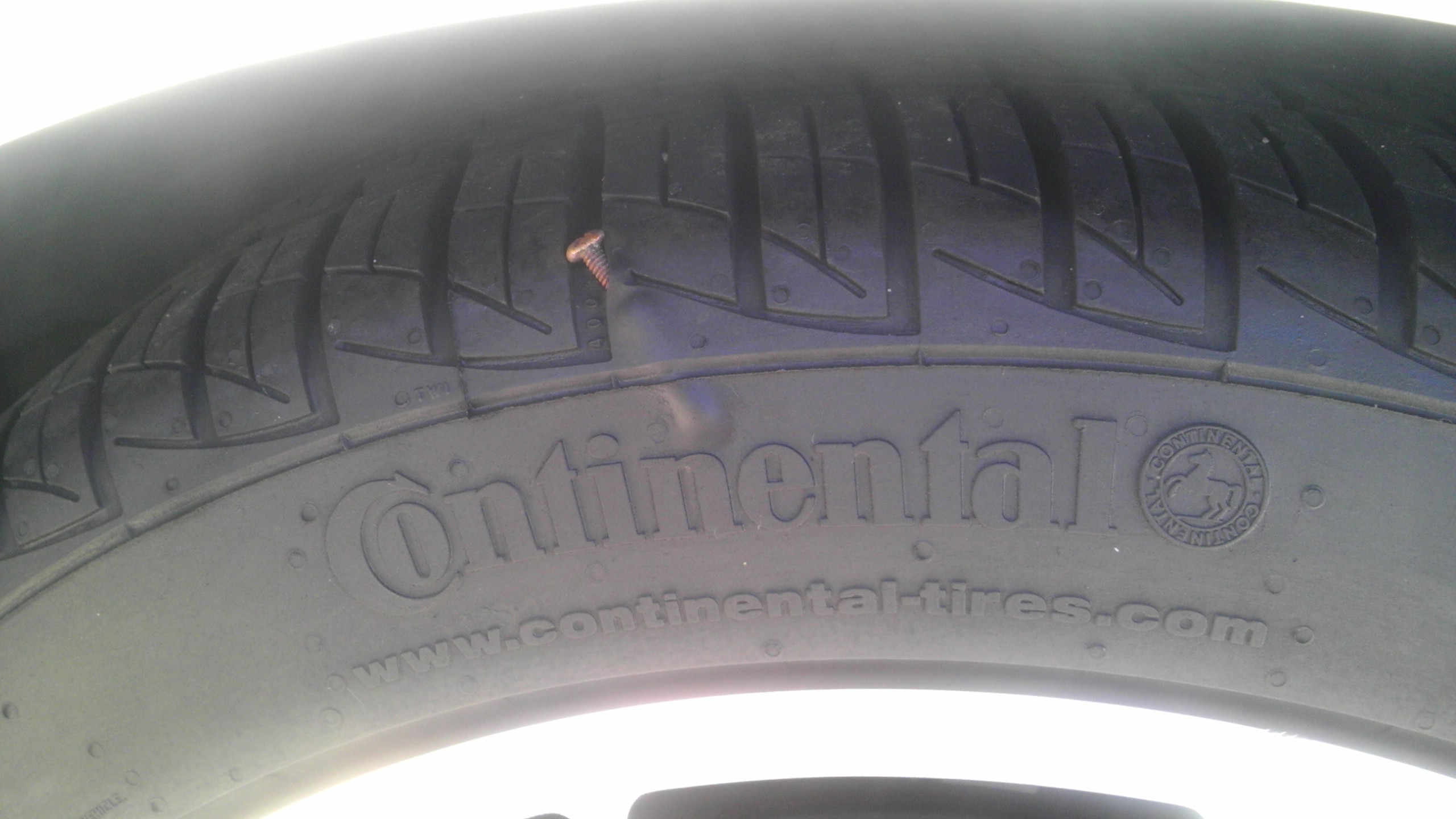 What do u guys think. Can I salvage my tire? | PriusChat