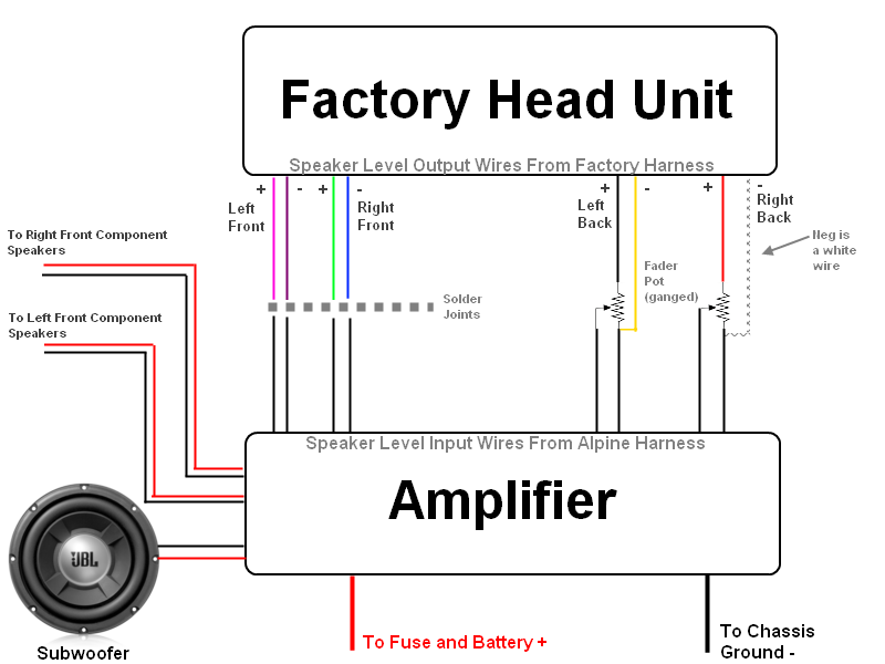 head unit wiring diagram wirdig head unit wire question priuschat