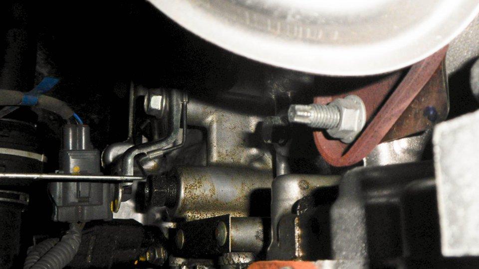 prius engine oil leak