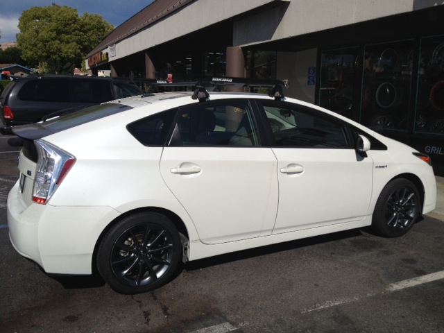 2010 Prius With Ct200h F Sport Wheels