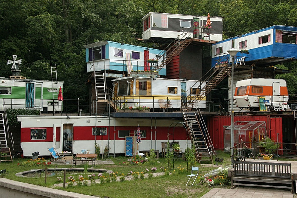 Shipping containers provide home in a box PriusChat